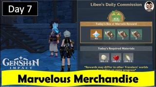 Marvelous Merchandise - Day 7 | Genshin Impact