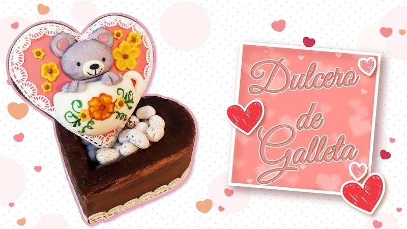 Dulcero de Galleta por Lau Reyes