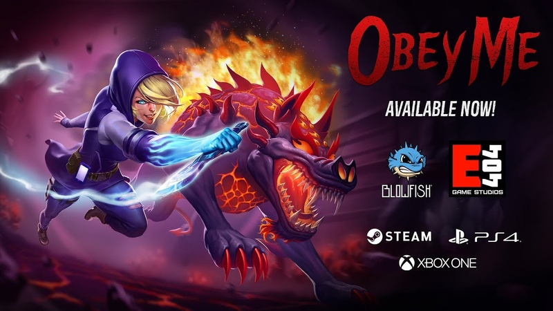 Obey Me - Available Now on Steam, PS4 Xbox One!