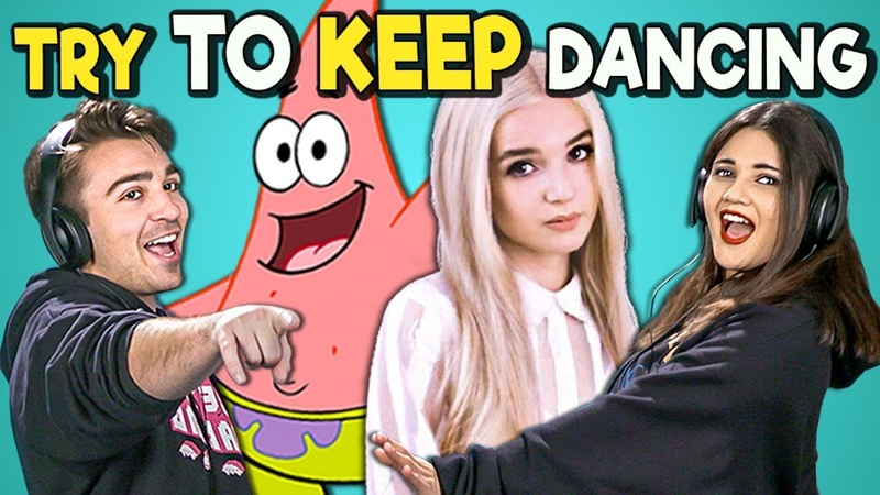 College Kids React To Try To Keep Dancing Challenge (Poppy! Despacito! C-SPAN)