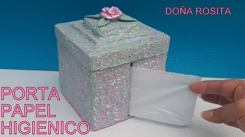 Diy Manualidesdes faciles y utiles con reciclaje de carton Porta papel higienico