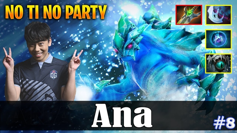 Ana Morphling Safelane NO TI NO PARTY Dota 2 Pro MMR Gameplay 8