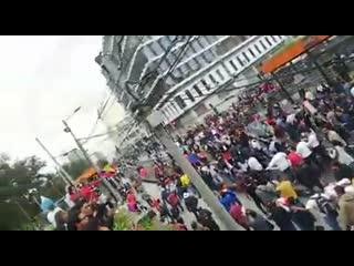 Quito protesta contra el régimen dictatorial de lenin moreno