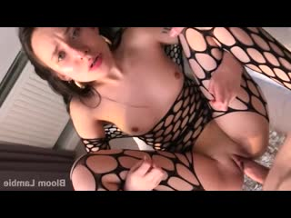 001 Young Girl in Fishnet Rough Sex_bloom lambie_720p