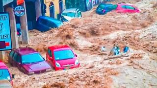 Belgium SHOCKED! Massive Floods in Theux, Belgium (July 14, 2021)