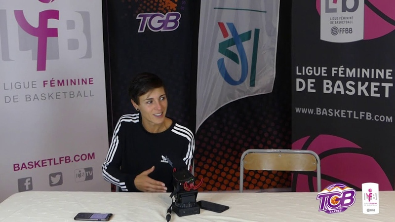 LFB 2020 2021 J 6 Tarbes vs Basket Landes La conférence de presse d'après match