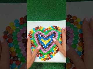 Satisfying Video l Mixing Candy | ASMR  #shorts