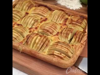 Невероятно вкусный и красивый пиpог с яблoками
