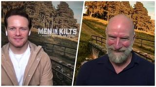 Men In Kilts Stars Sam Heughan and Graham McTavish