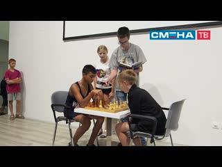 Торжественная церемония открытия Всероссийского шахматного фестиваля имени А. Е.Карпова в ВДЦ Смена
