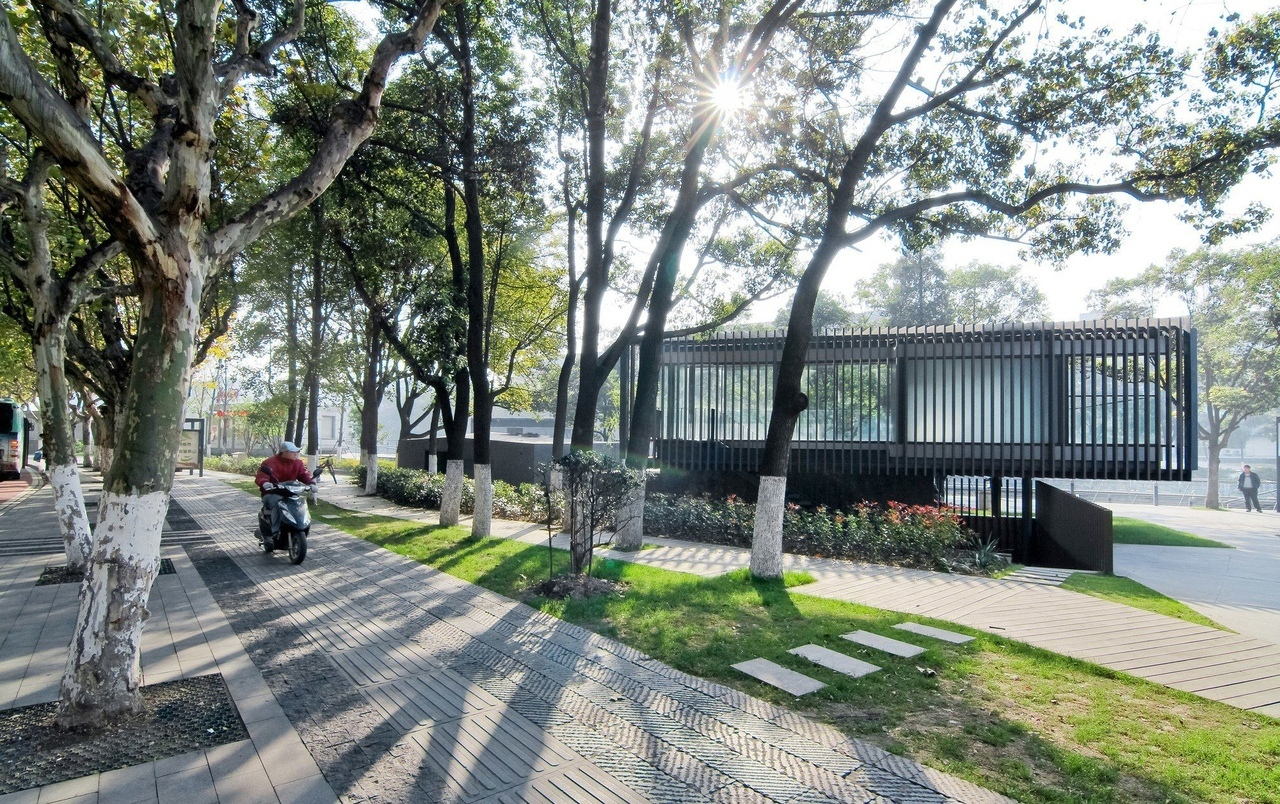 Vector Architects / Riverside Park Pavilion