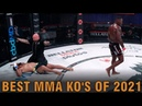 BEST MMA KNOCKOUTS OF 2021