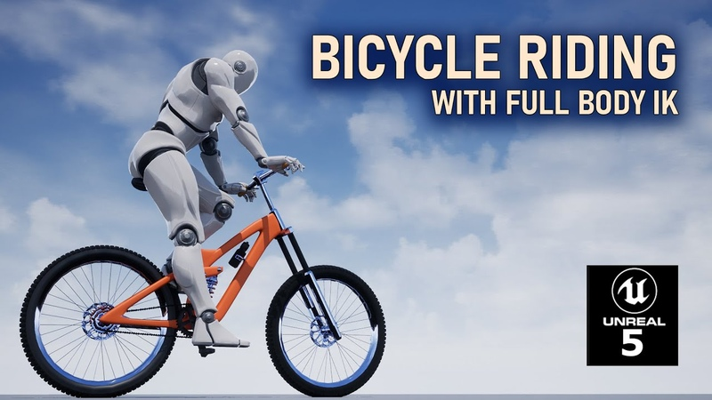 Unreal Engine 5 Bicycle Riding System with Full Body IK part 6 Max Forward and Reverse Speed