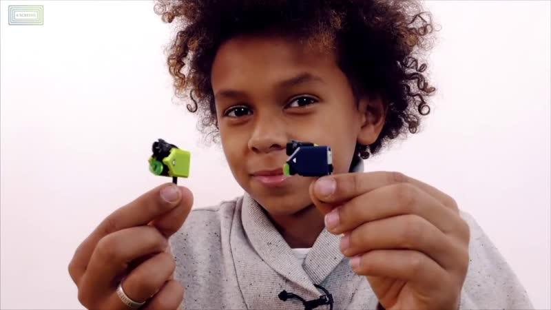 Мир мальчишек ЯРИК и ДАНИ собирают конструктор THE LEGO MOVIE Сборник