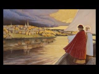 Познавательный ролик о православных святых Петре и Февронии. Рассказывает библиотекарь Елена Лисицина.