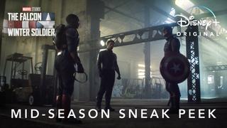 Сник-пик к середине сезона   Сокол и Зимний Солдат от Marvel Studios   Disney+