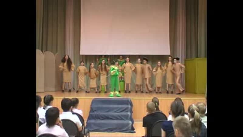 Музыкально хореографическая сказка Лягушка путешественница в исполнении Театра танца Гармония