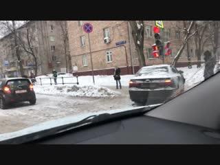 ДТП на улице Менжинского.