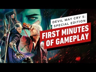 The First 8 Minutes of Devil May Cry 5 Special Edition - Vergil 4K Gameplay on PS5