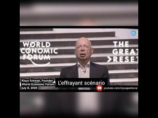 Klaus Schwab (fondateur du forum économique mondial) parle d'une cyber-pandémie à venir. Grand reset