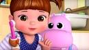 Учимся чистить зубы - Консуни песенка 8 - Learns to Brush - Kids Cartoon