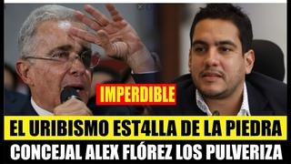 """""""CUANTO MIEDO LE TIENE EL CENTRO DEMOCRÁTICO A LA VERDAD"""":CONCEJAL ALEX FLOREZ PULVERIZA AL URIBISMO"""