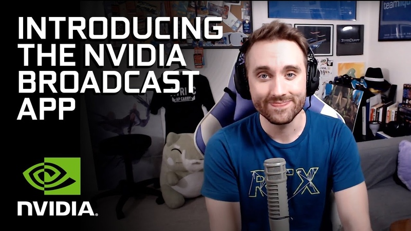 NVIDIA Broadcast AI Powered Voice and Video App