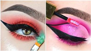 Os Melhores Tutoriais de Maquiagem das Gringas #35💜New Makeup Trends 2021