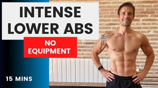 Intense Lower Abs | No Equipment at Home | 15 Minutes | #CrockFit