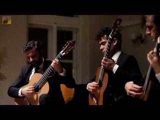 Schubert: Impromptu Op. 90, No. 3 (Guitar Trio) - Live Video - Trio Elogio