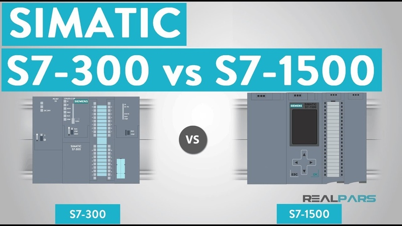 What are the differences between SIMATIC S7-300 and S7-1500 PLCs
