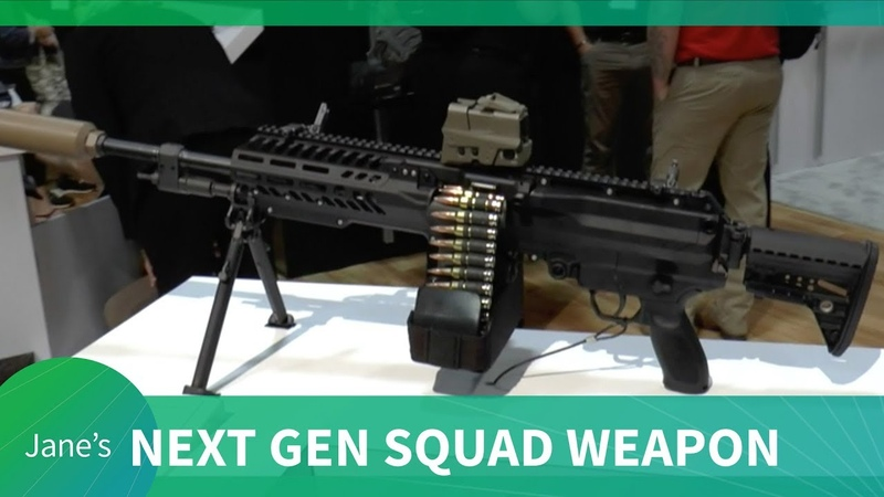 Sig Sauer presents Next Generation Squad Weapons NGSW for US Army