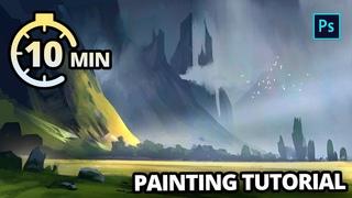 Paint this Epic Landscape in 10 Minutes