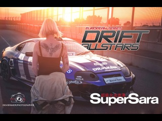 super saras drift world by JDM live 2014