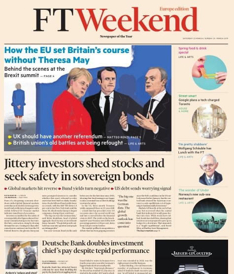 Financial Times Europe - 23 03 2019 - 24 03 2019