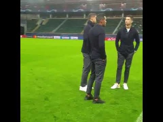 Ювентус и Криштиану Роналду в Москве на поле РЖД арены