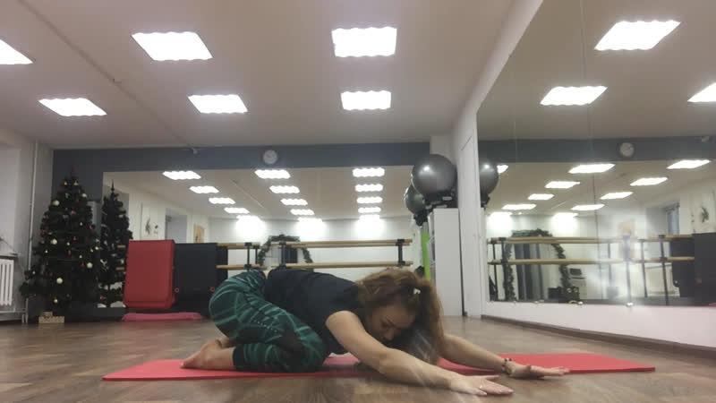 Упражнения при сколиозе от Дилары