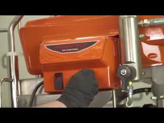 Инструкция по сборке и запуску окрасочных аппаратов ASPRO 3900, 6000 и 7200