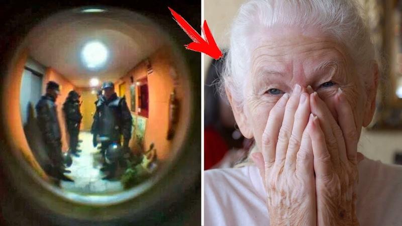 Бабушка позвонила в полицию и сказала что хочет КУШАТЬ То что было дальше Вас сильно УДИВИТ
