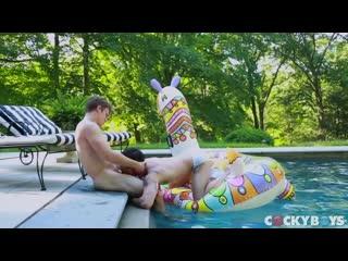 Blake Mitchel Fucks Levi Karter In 'Camp CockyBoys: It's Finally Summer'