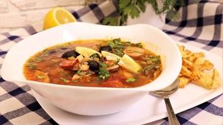 Токарь с завода научил мужа готовить этот чудо-суп. Помогает от похмелья!