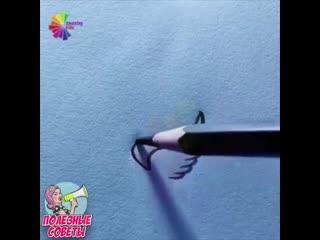 Как легко нарисовать птичек