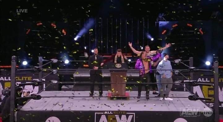 AEW Dynamite и NXT 11.11.20, изображение №6