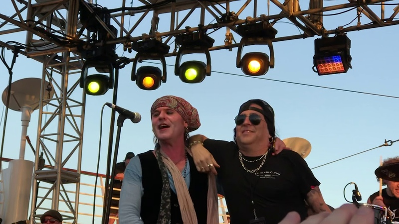 The Quireboys with taime downe 7 o'clock monsters of rock cruise 2019