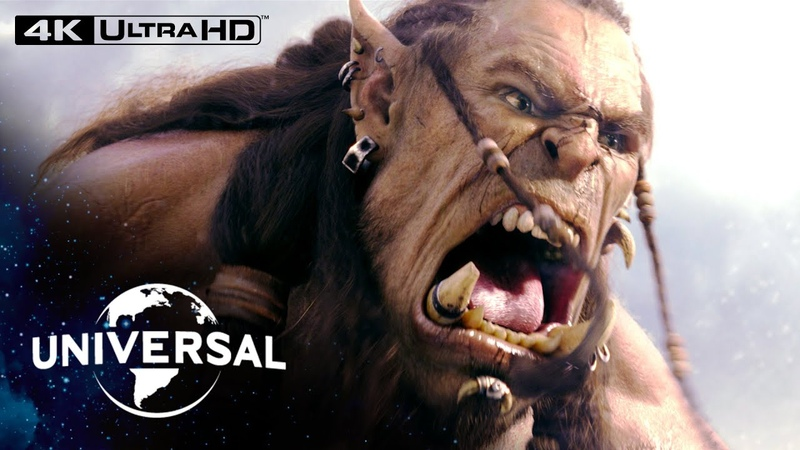 Warcraft Durotan vs Gul'dan Fight in 4K HDR