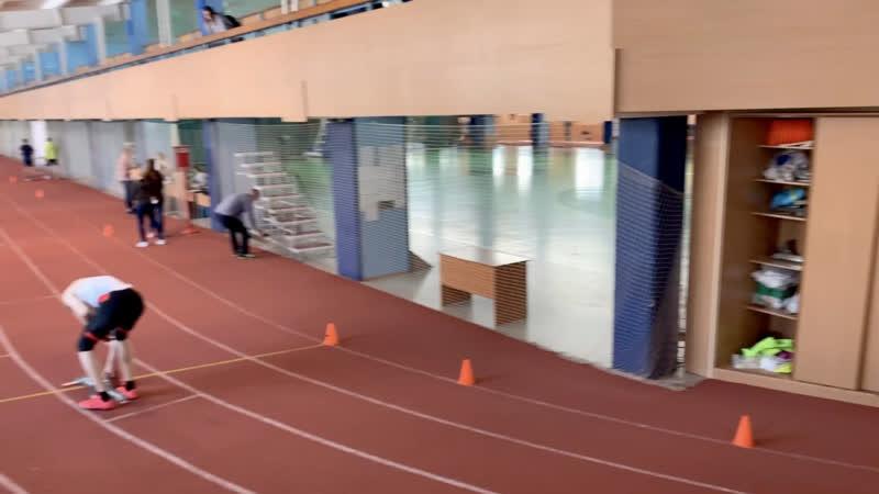 29 02 2020 Чемпионат Новосибирска 200 метров 25 24 сек