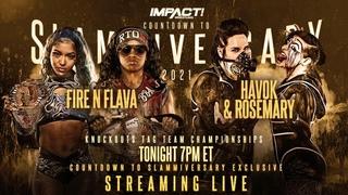 LIVE Countdown To Slammiversary! | Official IMPACT Wrestling Slammiversary Pre-Show