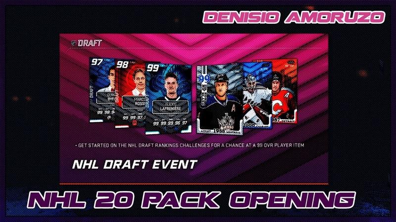 №73 NHL 20 HUT Pack Opening (500 к NHL DRAFT EVENT)