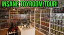 Insane Toy Room Tour! TMNT MOTU Transformers Games Behind The Collector 4
