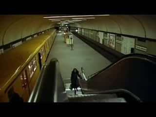 Possession (1981) scary scene on the subway.